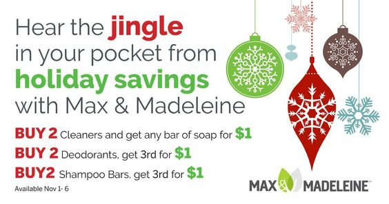Max & Madeleine Holiday Specials #maxandmadeleine #emmagibbs