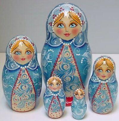 Russian Nesting Dolls | Babushka, Matryoshka www.matrioskas.es