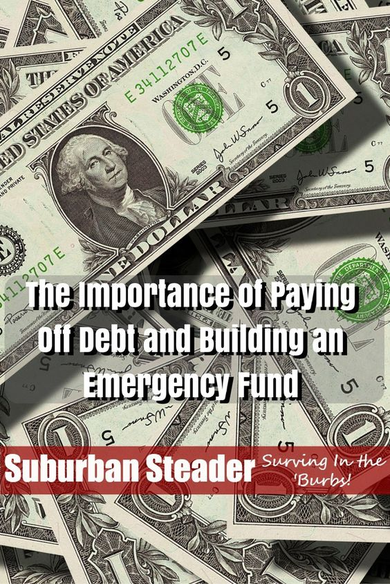 """An emergency fund is not a """"backup fund"""" you can use to buy anything you want…"""