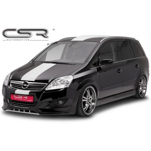 Csr Vauxhall Zafira B 08 13 Front Bumper Lip Mad Motors Vauxhall Suv Car Body Kit