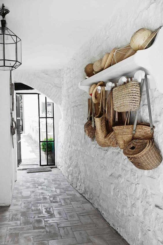 A rustic Italian cottage from insideout.com.au. Photography by Kristian Septimius/House of Pictures.: