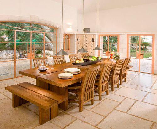 Mesas de comedor, grandes comedores and grandes mesas de comedor ...