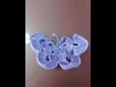 con questo video passo passo potete creare delle bellissime farfalle ad uncinetto da usare come abbellimenti, bomboniere, top per matite o penne, da applicar...