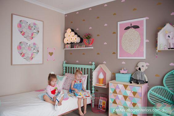 parede e mobilía