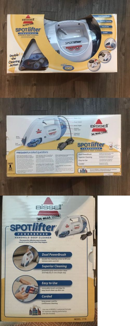 Carpet Shampooers 177746 Bissell New In Box Spotlifter