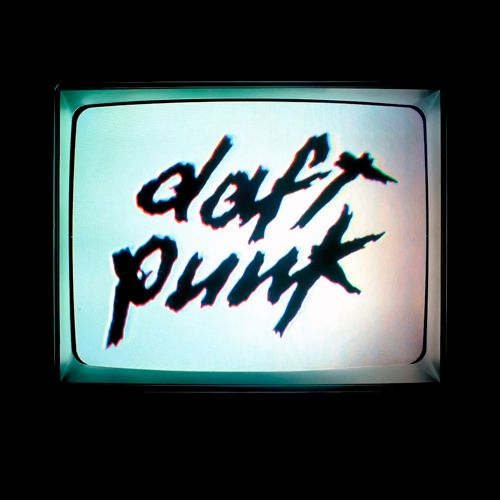 Daft Punk – Human After All (single cover art)