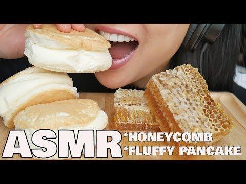 Asmr Honeycomb Fluffy Pancake Eating Sounds Sas Asmr Youtube Fluffy Pancakes Asmr Eat #asmr #mukbang #honeycomb fan made compilation of sas asmr's best honeycomb eating clips! asmr honeycomb fluffy pancake eating