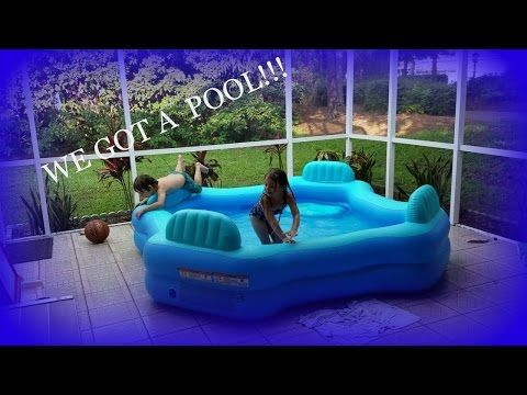 This 30 Four Seat Family Lounge Pool From Will Totally Change How You Do Summer