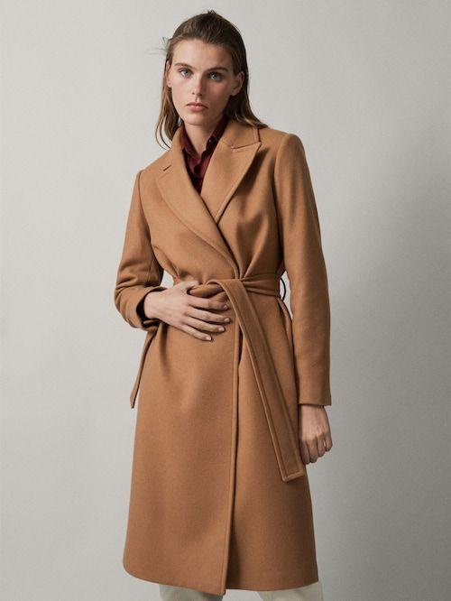 Novinky Kolekce Zeny Massimo Dutti Czech Republic Wool Coat Women Coat Coats For Women