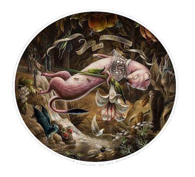 """Femke Hiemstra """"La Mort En Cadence"""" at Roq La Rue Gallery"""