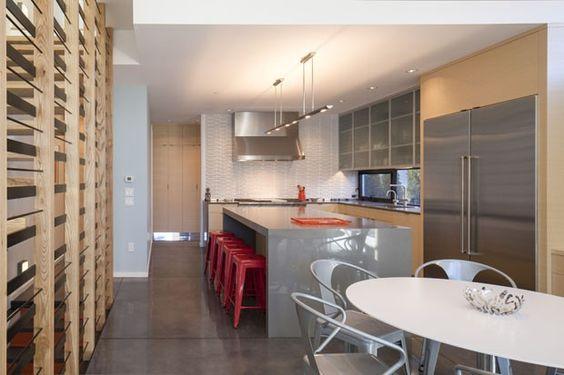 A cozinha de Sue Heilbronner (Foto: Robert Reck/The New York Times)