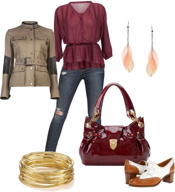 """""""bag patent red"""" by lamani ❤ liked on Polyvore"""