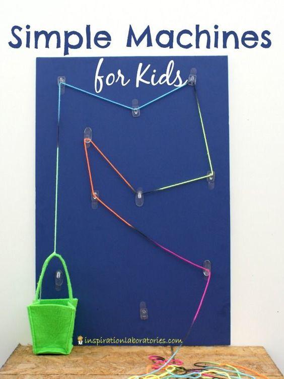 Simple Machines Worksheet - Free Science for Kids Hidden ...