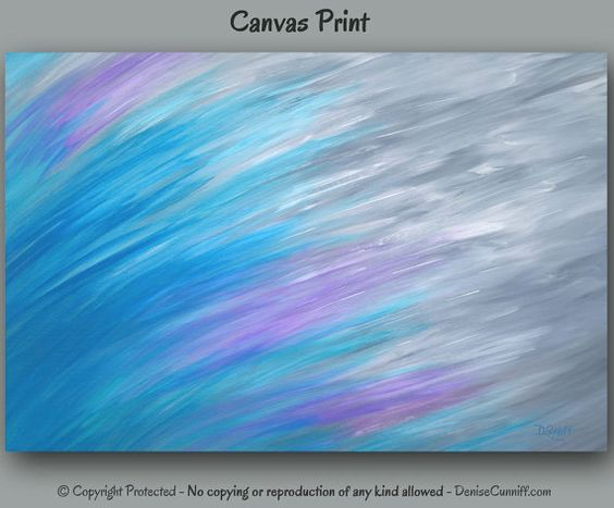 Abstract Canvas Turquoise And Teal Blue On Pinterest