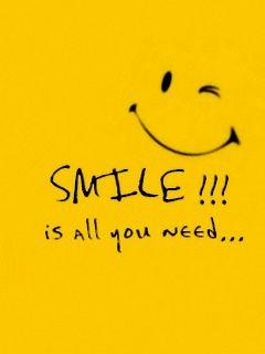 Smile, it's all you need.  http://wetravelandblog.com