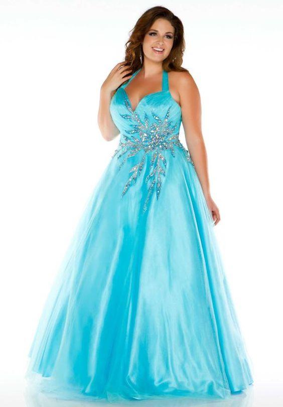 cutethickgirls.com inexpensive plus size prom dresses (04 ...