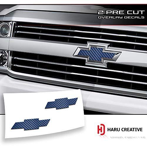 Black Chevy Chevrolet Rear Tailgate Bowtie Emblems For 2016-2018 Silverado 1500