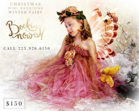 Christmas Pictures, Baton Rouge, Winter Fairies | Luckett Portrait ...