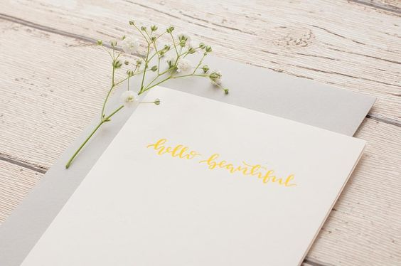 Sunny yellow letterpress for this gorgeous (albeit slightly too hot for me! 😅) summer weather ☀️ This card is one of my greeting cards available online on @etsy now! Just click on the Shop tab on my website. Link in bio ✨💕 📸 @jessicadaviesphoto