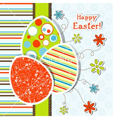 Template easter greeting card vector 758940 - by Tolchik on - easter greeting card template
