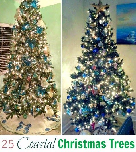 Christmas Tree Ideas For Those Who Love The Sea! Featured