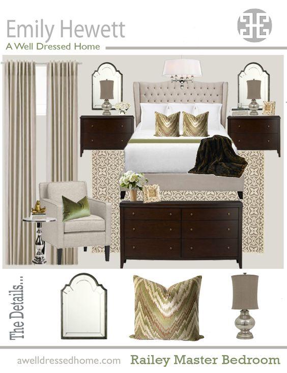 Railey Master Bedroom Design Board
