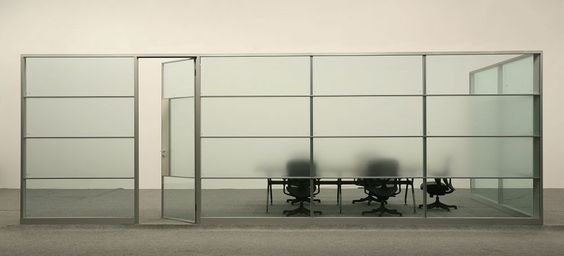 Wholesale Soundproof Half Glass Office Partition, View Half Glass ...