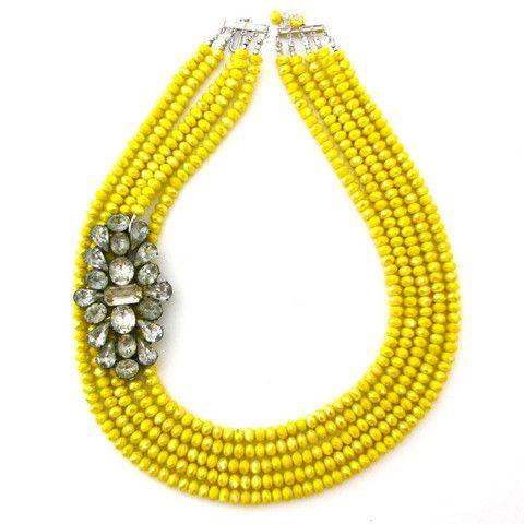 yellow + gem