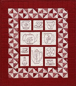 Redwork and Stitchery Quilts from Patterns by Jean Boyd: