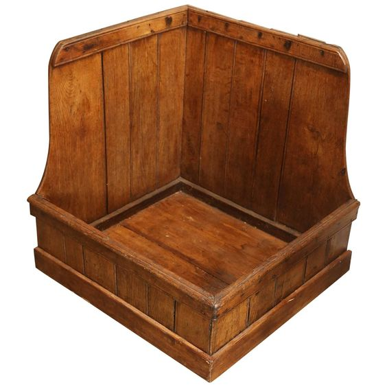 19th Century Pine Dog Bed or Log Storage | From a unique collection of antique and modern beds at https://www.1stdibs.com/furniture/more-furniture-collectibles/beds/