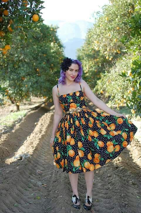 Floral skirt50s