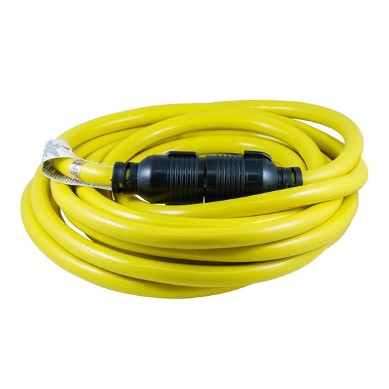 Houseables Generator Cord Electric Extension Wire 4 Prong 30 Amp 125250v Single Yellow 50 Ft All Rubber 10 Gau Generator Cords Electricity Electrical Equipment