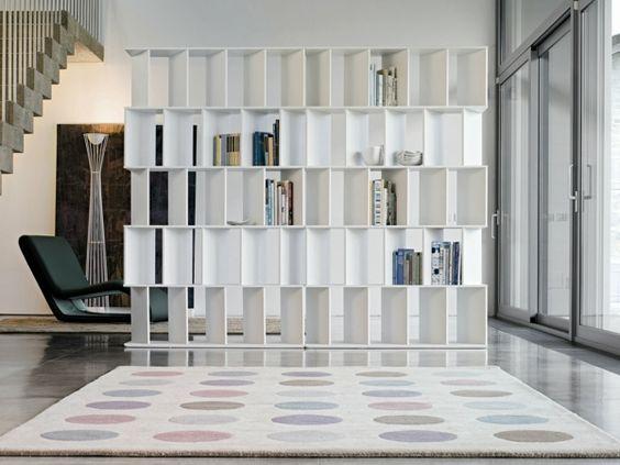 Cloison de s paration d corative pour sublimer l espace originals for Cloison amovible bibliotheque