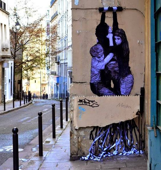 Levalet in Paris, 2016