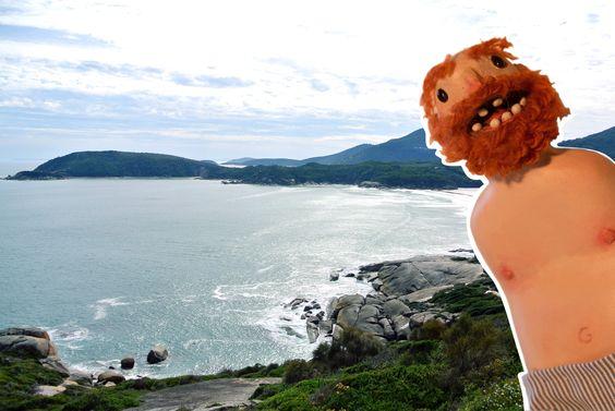 """""""Tutto ciò mi confonde, in queste acque profonde anche il rumore delle onde."""" Wilsons Promontory National Park nel Victoria http://igg.me/at/ernestegg/x"""