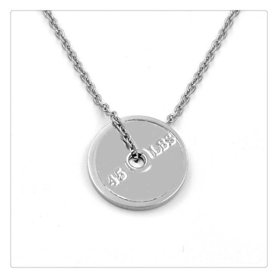 Get this Gym Fitness Weightlifting Charm Necklace and let the world know you…