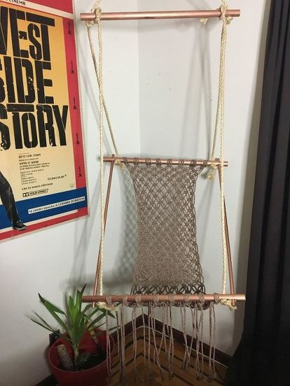 How To Make A Hanging Macrame Chair Diy Macrame Chairs Macrame Hanging Chair Diy Chair