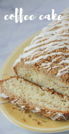 Sour Cream Coffee Cake Recipe!