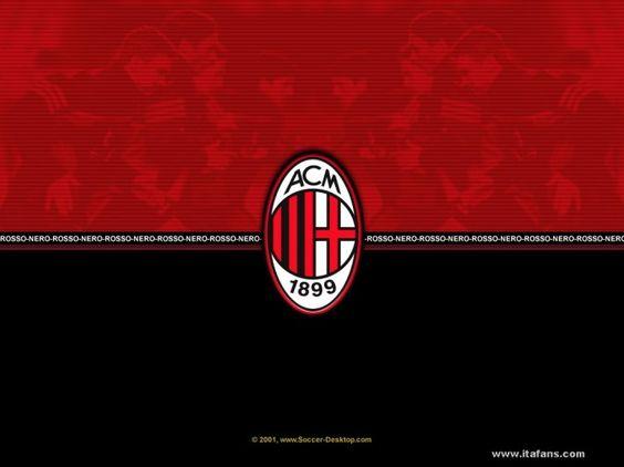 AC Milan Logo Wallpaper