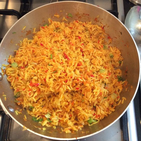 "Notposh ""Nandos"" Spicy Rice   Not Posh Food"