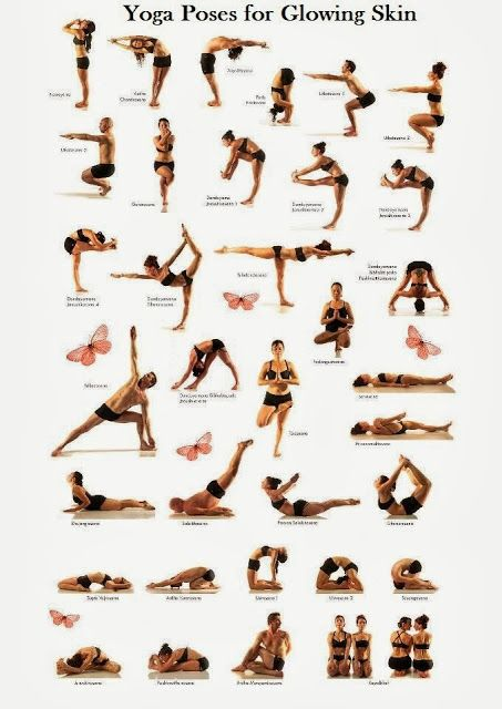 Natural Skin Care Yoga for Glowing Skin - helps to release toxins ...