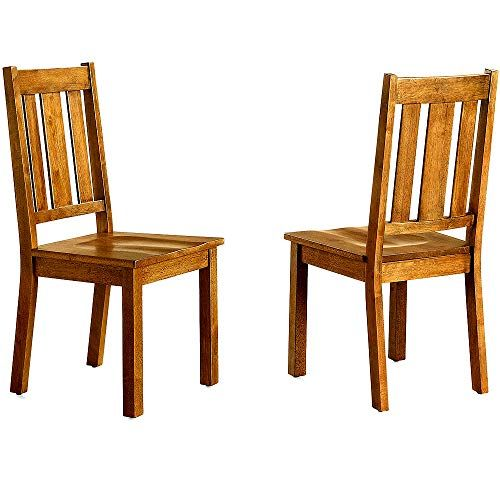 Better Homes And Gardens Bankston Dining Chair White 2 Pack