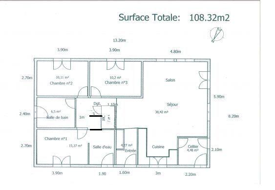 Plan D Une Maison De 3 Chambres Recherche Google How To Plan Floor Plans Good Company