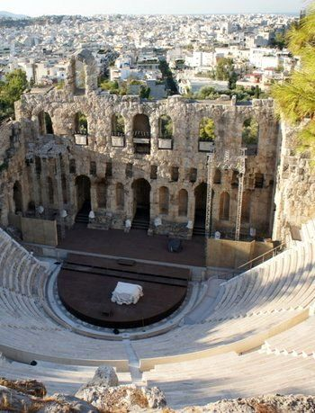 Odeon of Herodes Atticus, Athens, Greece.