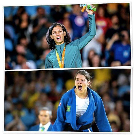 Girl power!  Nossas judocas guerreiras levaram medalhas de prata para o Brasil!! Parabéns Lucia Araújo e Alana Maldonado! Muita admiração!  #FhitsInspiration #paralimpiadas #paralympics