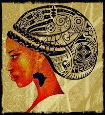 Risultati immagini per tatuaggio volto africano