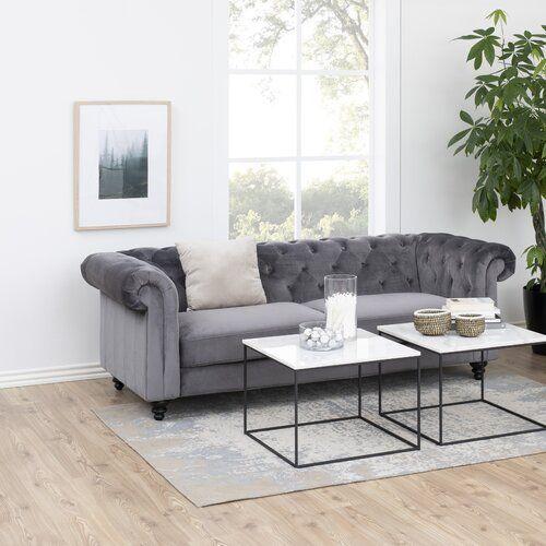 Sofa Marcel Willa Arlo Interiors Polsterfarbe Altrosa Sofa Interior Furniture
