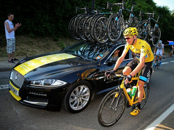 Team Sky | Pro Cycling | Photo Gallery | Tour de France stage 21 gallery