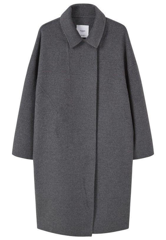 Mango HANNA Kurzmantel grey Bekleidung bei Zalando.de | Material Oberstoff: 54% Wolle, 46% Polyester | Bekleidung jetzt versandkostenfrei bei Zalando.de bestellen!