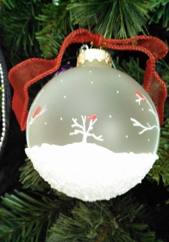 """Christmas Ornament: 3"""" frosted - 57.0KB"""